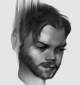 Ian Ashcroft self portrait