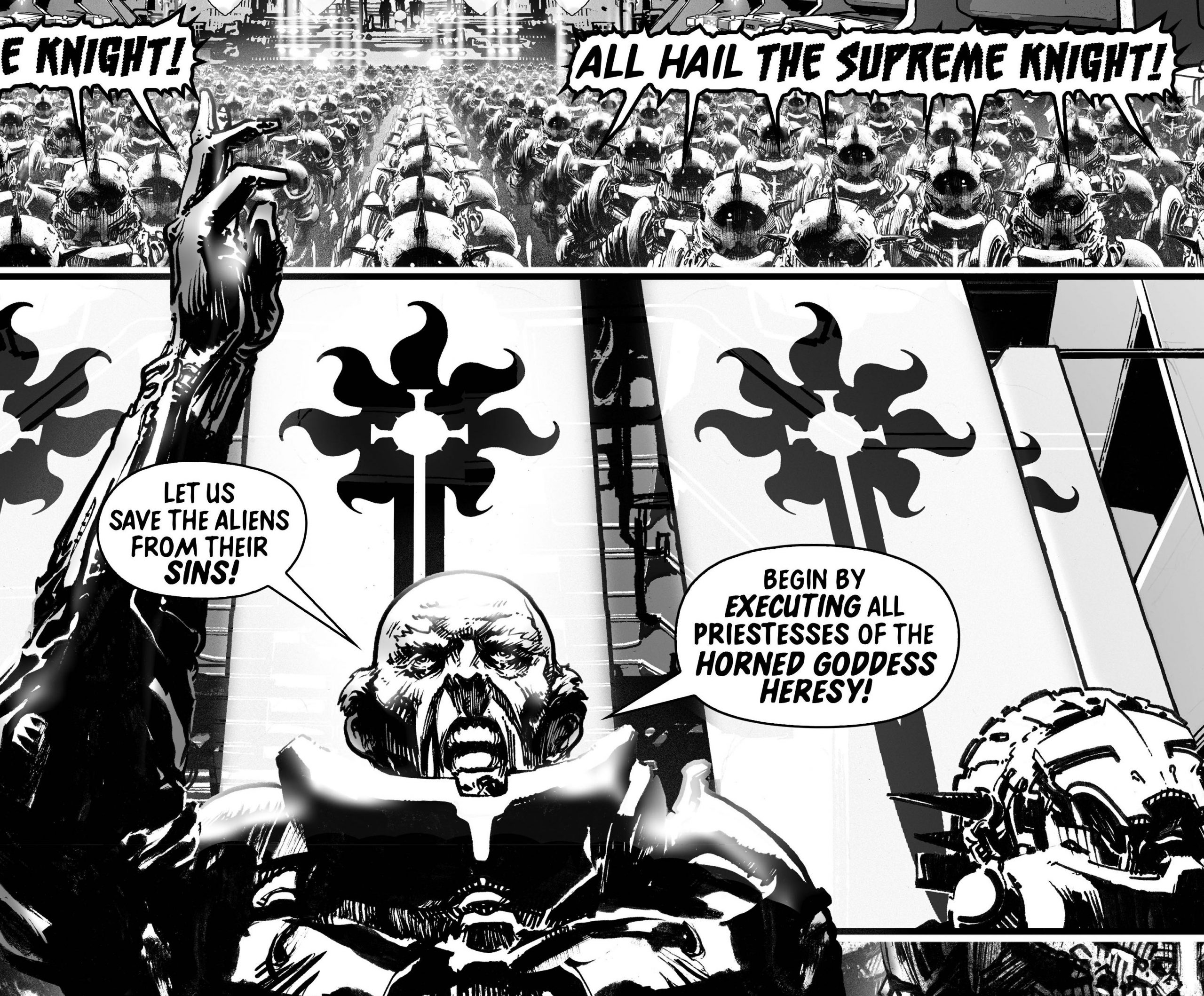 Slayer panel by Pat Mills Ian Ashcroft