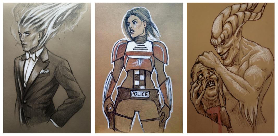 HELLBREAKER sketch prizes