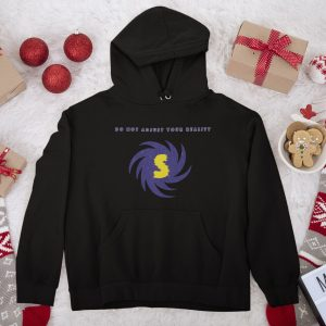 Spacewarp Hoodie Christmas background